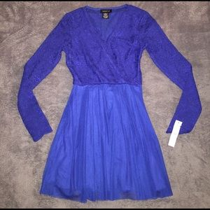 Teeze Me Dresses & Skirts - Brand new stunning dress! Dazzle all night in blue