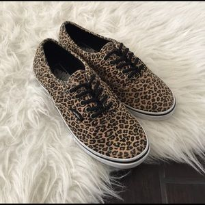 Vans Shoes - Leopard vans. Leopard print vans. Leopard shoes