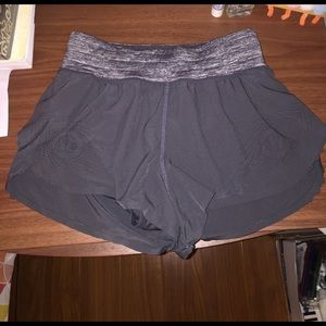 Lululemon Rare Scalloped Running Shorts