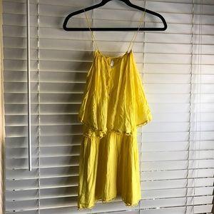 Vix Tops - ViX Yellow mini dress/top