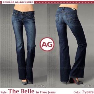 AG Adriano Goldschmied Denim - AG Adriano Goldschmied The Belle Flare 7 Yr 28