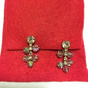 Vintage Jewelry - LAVENDER TINTED AB CRYSTALS