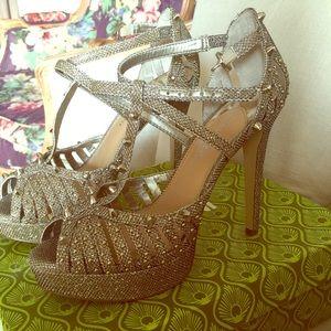 GOLD Stilettos