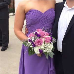 Bill Levkoff Dresses & Skirts - Bill Levkoff Amethyst Chiffon Gown