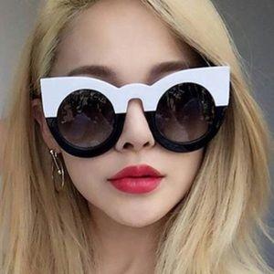 😎HP😎 ColorBlock Cat Eye Vintage Style Sunnies