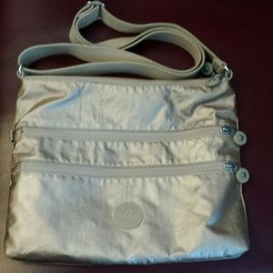 Kipling  Handbags - Kipling Gold Crossbody Bag