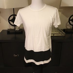 Tomas Maier Other - Tomas Maier Men's Color Block White Tee