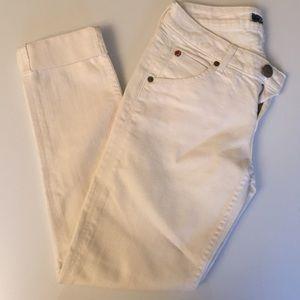 Hudson Jeans Denim - Hudson white jeans (capri length)