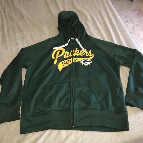 55fa94ed Women's Green Bay Packers zip up hoodie