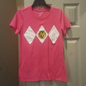 Mighty Fine Tops - Pink Power Ranger Costume Shirt