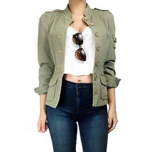 Marc Jacobs Jackets & Blazers - Marc jacobs green military style jacket
