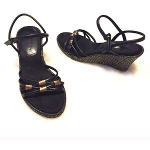Life Stride Shoes - ❣BOGO 1/2 off❣Life Stride leather wedge sandal 5.5