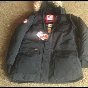 Canada Goose Other - Canada Weathergear Men's Hooded Fur