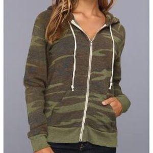 Alternative Apparel Tops - Alternative apparel camo hoodie