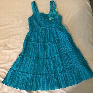 Sweet Heart Rose Other - Sweetheart Rose blue girls dress