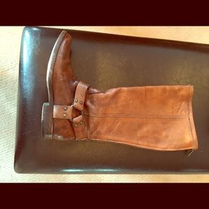 Medium Brown Frye Boots - Size 6