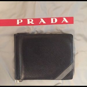Prada Other - Prada money clip wallet