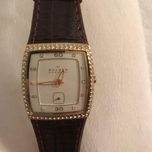 Skagen Accessories - SKAGEN embellished watch