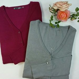 MAK Sweaters - Bundle of two cardigans for the price of one!