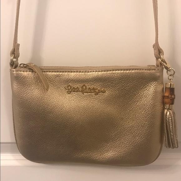 Lilly Pulitzer Handbags - Lilly Pulitzer Cruisin Leather Crossbody c7dce0e719efb