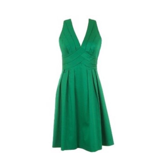 0d3333c076ee4 Calvin Klein Dresses   Skirts - Calvin Klein V-neck Fit   Flare Dress In