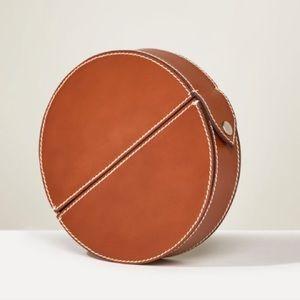 ✨HOST PICK✨NWT Zara Studio Leather Minaudière