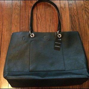 Black Rivet Handbags - Brand new tote with magnetic closure