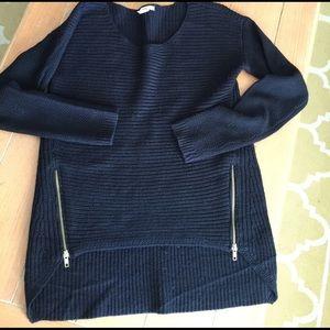 Bar III Sweaters - Bar 111 black sweater longer in back