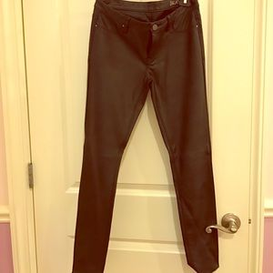 Blank NYC Pants - BLANKNYC faux leather jeggings