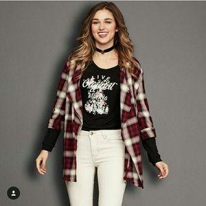 Sadie & Sage Jackets & Blazers - Plaid Jacket ❤ 30 min sale 💞