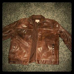 Empress Lingerie Other - Dark Brown Leather Jacket