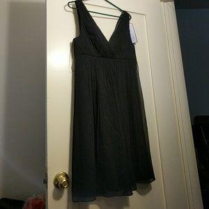 J. Crew Dresses & Skirts - NWT J.Crew black brigitte dress in silk chiffon