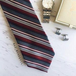 Other - 100% Silk Striped Tie