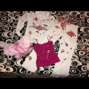 TWISTED HEART Tops - 🍭🍬🍡TWISTED❤️HEART 2 PC. TRACK SUIT💚LIKE NEW💛L