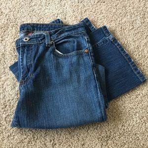 Ralph Lauren 10/30 stretch Kelly boot cut jeans