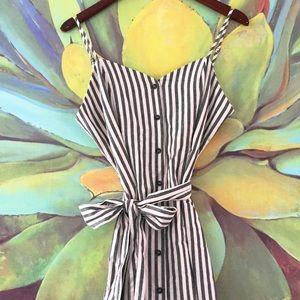 Lunik Dresses & Skirts - Striped Button Down Dress