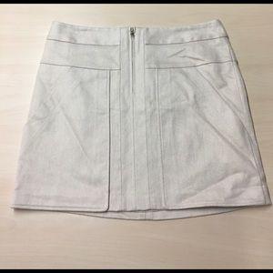 Ann Taylor Dresses & Skirts - Ann Taylor Textured Linen Skirt - Size 12 Petite