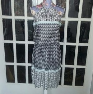 MSK Dresses & Skirts - NEW LISTING MSK Blouson Chain Neckline Dress EUC