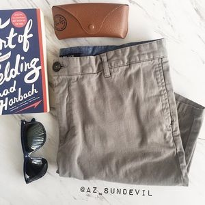 Other - Gray twill shorts