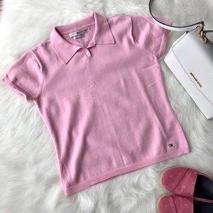Tommy Hilfiger Tops - Tommy Hilfiger Cotton Polo Tee