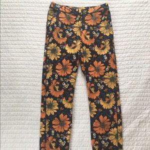 Top shop Floral Pants - Size US 4