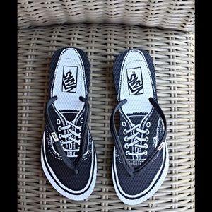 Vans Other - Men's VANS flip flops. Fun design for summer! NWOT