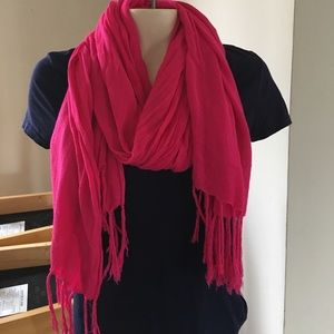 Forever 21 Accessories - MOVING SALE!! Pink scarf