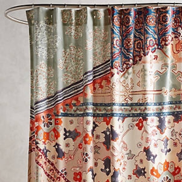 Anthropologie Other Risa Shower Curtain Poshmark