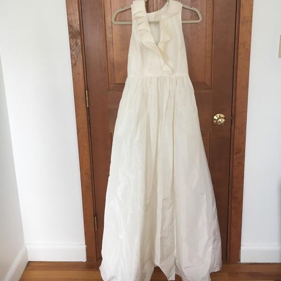 50 off j crew dresses skirts j crew kira wedding for J crew wedding dress size chart