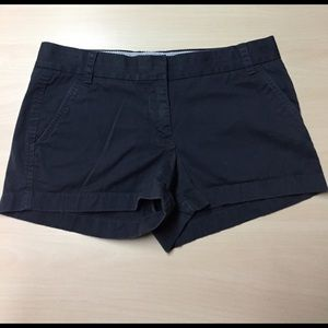 J. Crew Pants - J. Crew Navy Broken In Cotton Chino Shorts - 8