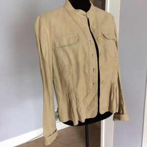 MICHAEL Michael Kors Tops - Michael Kors linen jacket