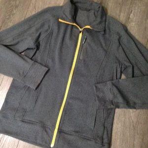 lululemon athletica Other - Men's lululemon gray and yellow zip jacket M