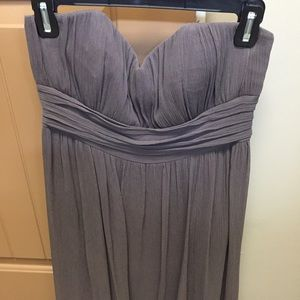 BCBG to the max lavender dress size 8