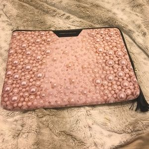 Christian Siriano Accessories - Christian Siriano Pearl Laptop Sleeve